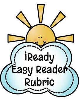 Kindergarten Reading I-Ready Rubric