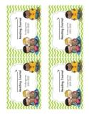 Kindergarten Reading Journal Labels