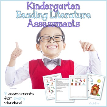 Kindergarten Reading Literature Assessments
