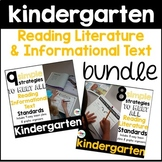 Kindergarten: Reading Literature and Informational Text Strategies Bundle