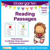 Kindergarten Reading Passages