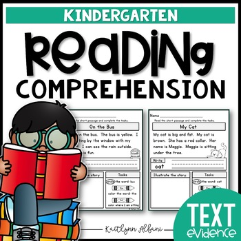Reading Practice Comprehension Passages - Text Evidence