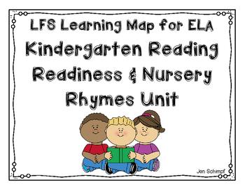 Kindergarten Reading Readiness & Nursery Rhymes Learning Map