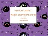 Kindergarten Reading Station for Harcourt Lesson 3