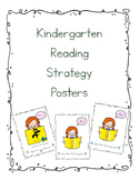 Kindergarten Reading Strategy Posters