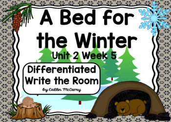 Kindergarten Reading Street: A Bed for the Winter Write the Room