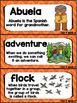 Kindergarten Reading Street Amazing Word Cards Abuela