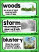 Kindergarten Reading Street Amazing Word Cards Bear Snores On