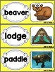 Kindergarten Reading Street Amazing Word Cards Building Beavers Unit 6 Week 3