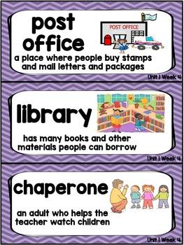 Kindergarten Reading Street Amazing Word Cards Miss Bindergarten
