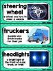 Kindergarten Reading Street Amazing Word Cards Trucks Roll!