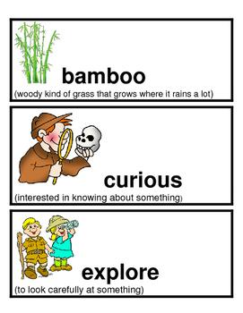 Kindergarten Reading Street Amazing Words Unit 3 with Pictures