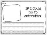 Antarctica Writing Prompt & Concept Map