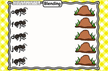 Kindergarten Reading Street Ants & Their Nests Flipchart Unit 6 Week 6 Day 1