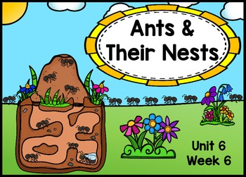 Kindergarten Reading Street Ants & Their Nests Flipchart Unit 6 Week 6