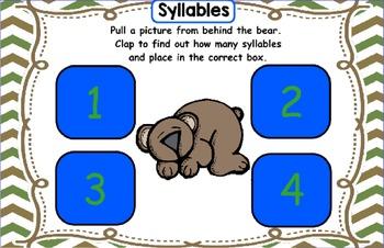Kindergarten Reading Street Bear Snores On Unit 2 Week 4 Flipchart