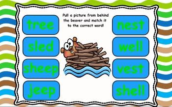 Kindergarten Reading Street Building Beavers Unit 6 Week 3 Flipchart