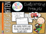 Kindergarten Reading Street Daily Journal Prompts
