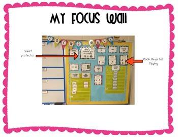 Kindergarten Reading Street Focus Wall Materials