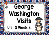 Kindergarten Reading Street George Washington Visits Unit 3 Week 3 Flipchart