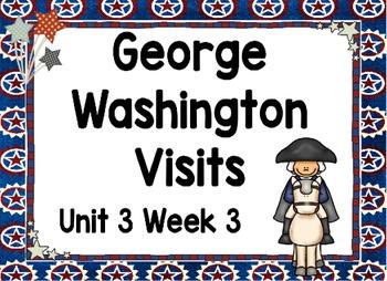 Kindergarten Reading Street George Washington Visits Unit 3 Week 3 Flipchart