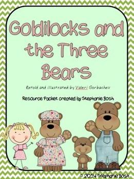 Goldilocks and the Three Bears - Scott Foresman Reading Street® Resource Packet
