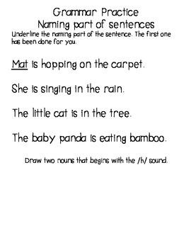 Kindergarten Reading Street Homework Pack Units 4-6