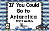 Kindergarten Reading Street If You Could Go to Antarctica Unit 4 Week 5