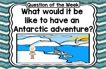 Kindergarten Reading Street If You Could Go to Antarctica Unit 4 Week 5  Day 1
