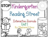 Kindergarten Reading Street Interactive Journal Unit 1