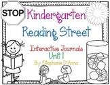 Kindergarten Reading Street Interactive Journal Unit 1