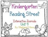 Kindergarten Reading Street Interactive Journal Unit 4