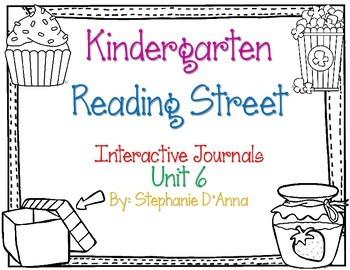 Kindergarten Reading Street Interactive Journal Unit 6