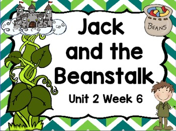 Kindergarten Reading Street Jack and the Beanstalk Days 3-