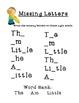 Kindergarten Reading Street Julius RESOURCE PACKET!!!