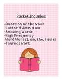 Kindergarten Reading Street Julius RESOURCE PACKET!!!