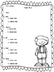 Kindergarten Reading Street Language Assessments Unit 2