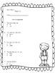 Kindergarten Reading Street Language Assessments Unit 5