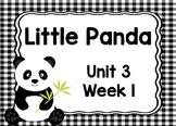 Kindergarten Reading Street Little Panda Unit 3 Week 1 Flipchart