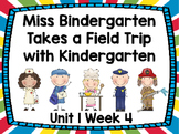Kindergarten Reading Street Miss Bindergarten Unit 1 Week 4 Flipchart