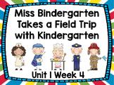 Kindergarten Reading Street Miss Bindergarten Unit 1 Week