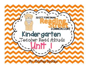 Reading Street Kindergarten Read Alouds Unit 1