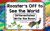 Kindergarten Reading Street: Rooster's Off to See the World Write the Room