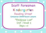 Kindergarten Reading Street SMARTboard Companion U1W3 Plai