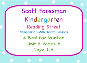 Kindergarten Reading Street SMARTboard Companion Unit 2 We