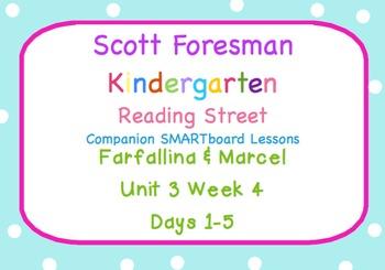 Kindergarten Reading Street SMARTboard Companion Unit 3 W4