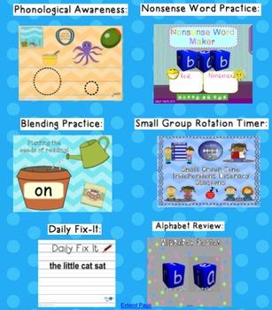 Kindergarten Reading Street SMARTboard Companion Unit 3 W5- Seeds
