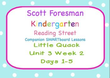 Kindergarten Reading Street SMARTboard Companion Unit 3 We