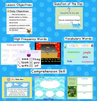 Kindergarten Reading Street SMARTboard Companion Unit 3 Week 6- Hide Clyde!