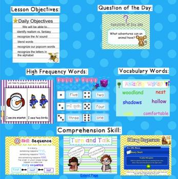 Kindergarten Reading Street SMARTboard Companion- Unit 4 Week 3 One Little Mouse